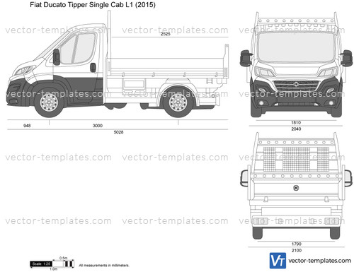 Fiat Ducato Tipper Single Cab L1