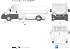Fiat Ducato Tipper Single Cab L3