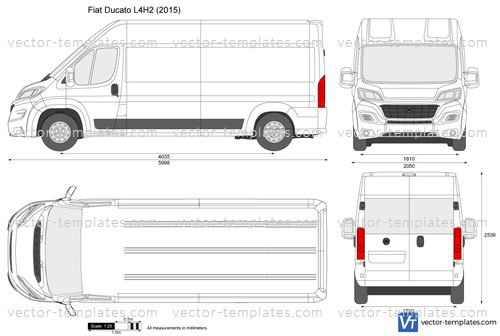 templates cars fiat fiat ducato l4h2. Black Bedroom Furniture Sets. Home Design Ideas