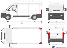 RAM ProMaster Cargo Van MWB 136 inch
