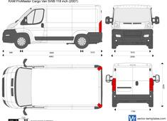 RAM ProMaster Cargo Van SWB 118 inch
