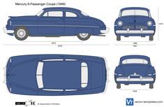 Mercury 6-Passenger Coupe