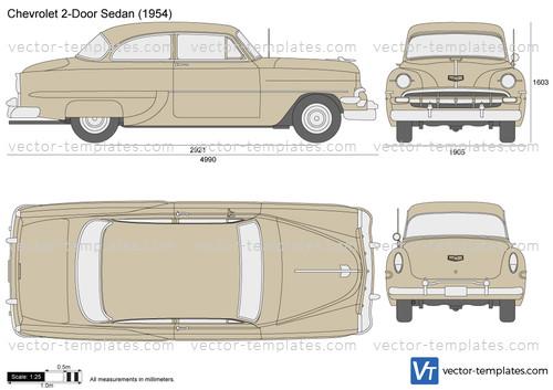 Chevrolet 2-Door Sedan