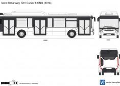 Iveco Urbanway 12m Cursor 8 CNG