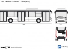 Iveco Urbanway 12m Tector 7 Diesel