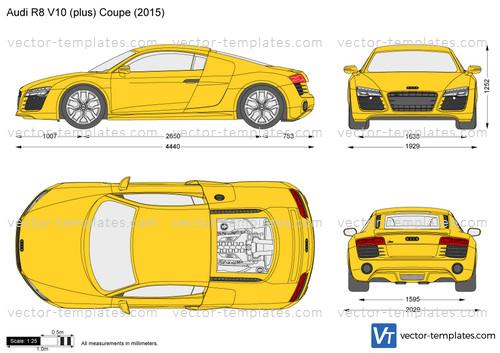 Audi R8 V10 (plus) Coupe