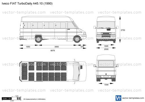 Iveco FIAT TurboDaily A45.10