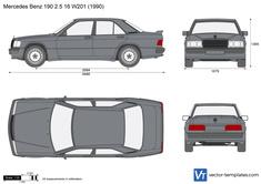 Mercedes Benz 190 2.5 16 W201