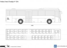 Irisbus Iveco Evadys H 12m