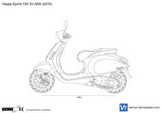 Vespa Sprint 150 3V ABS