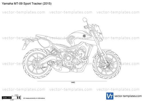 Yamaha MR-09 Sport Tracker