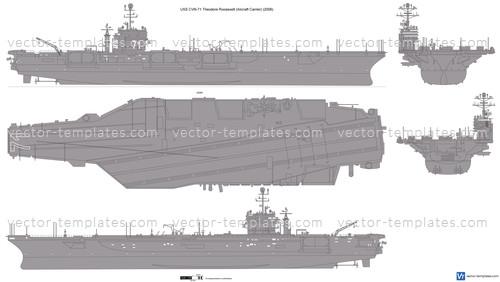 USS CVN-71 Theodore Roosevelt (Aircraft Carrier)