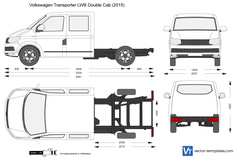 Volkswagen Transporter T6 LWB Double Cab