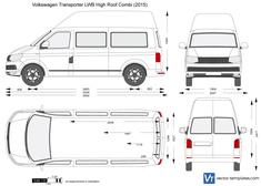 Volkswagen Transporter T6 LWB High Roof Combi