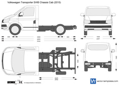 Volkswagen Transporter T6 SWB Chassis Cab