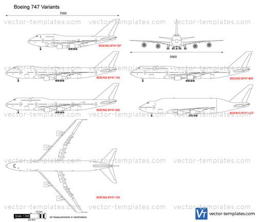 Boeing 747 Variants