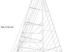 Baltic 81 Maxi sail