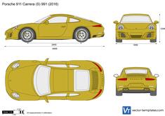 Porsche 911 Carrera (S) 991.2