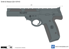 Smith & Wesson 22A 107410