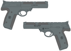 Smith & Wesson 22A 107412