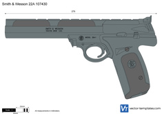 Smith & Wesson 22A 107430