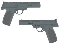 Smith & Wesson 22A 107442