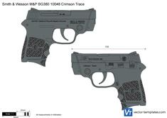 Smith & Wesson M&P BG380 10048 Crimson Trace