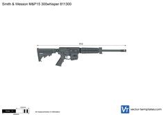 Smith & Wesson M&P15 300whisper 811300