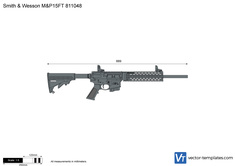 Smith & Wesson M&P15FT 811048