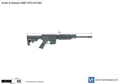 Smith & Wesson M&P15PS 811040