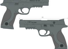 Smith & Wesson M&P9 PRO 178010