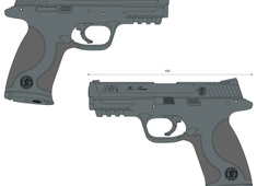Smith & Wesson M&P9 PRO 178035