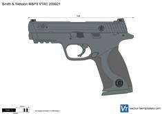 Smith & Wesson M&P9 VTAC 209921