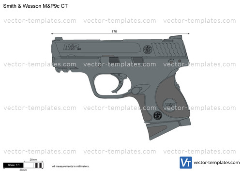 Smith & Wesson M&P9c CT