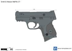 Smith & Wesson M&P9c CT