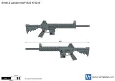 Smith & Wesson M&P1522 170335