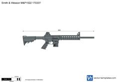Smith & Wesson M&P1522 170337