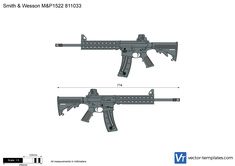Smith & Wesson M&P1522 811033