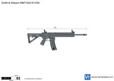 Smith & Wesson M&P1522 811034