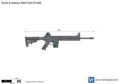 Smith & Wesson M&P1522 811046