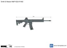 Smith & Wesson M&P1522 811062