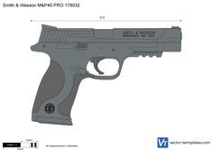 Smith & Wesson M&P40 PRO 178032
