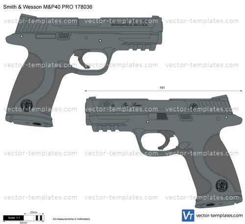 Smith & Wesson M&P40 PRO 178036