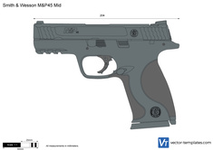 Smith & Wesson M&P45 Mid