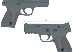 Smith & Wesson M&P45c