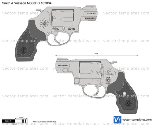Smith & Wesson M360PD 163064