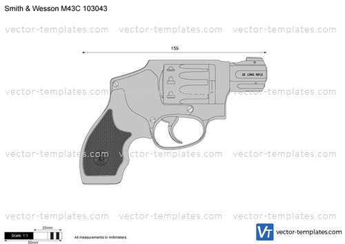 Smith & Wesson M43C 103043