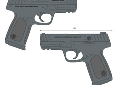 Smith & Wesson SD40VE 223400