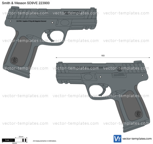 Smith & Wesson SD9VE 223900