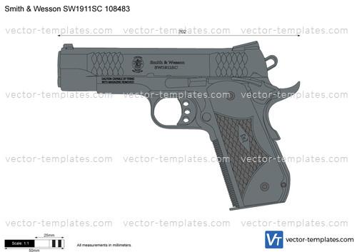 Smith & Wesson SW1911SC 108483